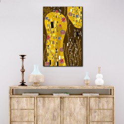 Tablou vertical in stil Gustav Klimt