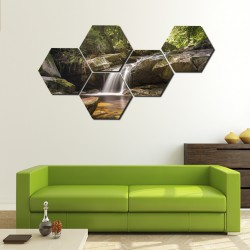 Set hexagonal Cascada