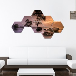 Set hexagonal Marea 01