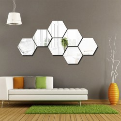 Set oglinzi hexagonale 7