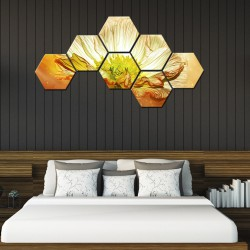Set hexagonal Flori 04