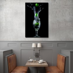 Tablou dining lime