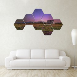 Set hexagonal Casuta din deal