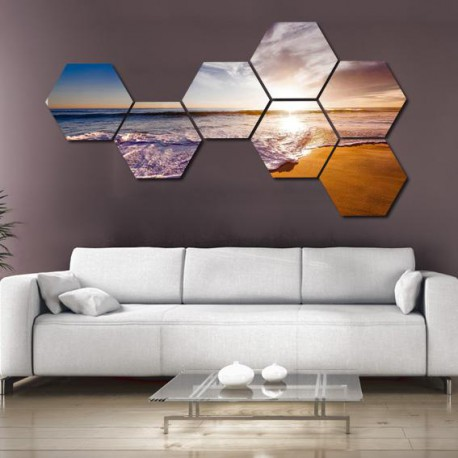 set hexagonal Marea
