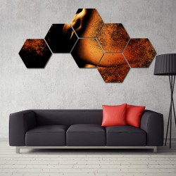 Set hexagonal Nud
